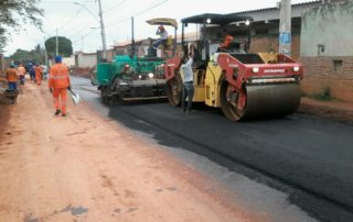 Pavimentação asfaltica Junior Brunelli