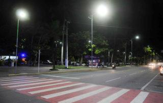 Restauração de iluminação de faixa de pedestre Junior Brunelli