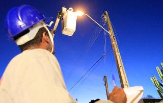 Melhoria da iluminação pública na QS 07 Junior Brunelli