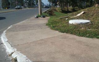 Recuperação e construção de calçadas em Águas Claras Junior Brunelli