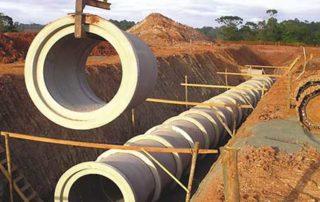 Reestruturação da rede de águas pluviais na QSD Junior Brunelli
