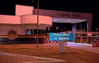 Junior Brunelli solicita o reforço do policiamento na Região Administrativa de Samambaia – RA XII. Junior Brunelli